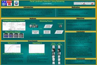 Facial Landmark Detection Using Retraining R. Vince  Rabsatt