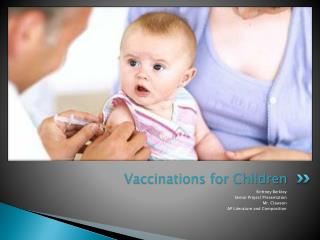 Vaccinations for Children