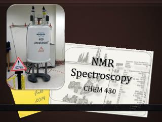 NMR Spectroscopy