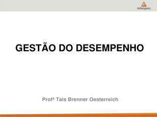 GESTÃO DO DESEMPENHO