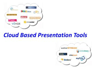 Web Based Presentation Tools