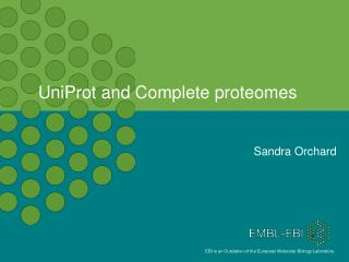 UniProt  and Complete proteomes