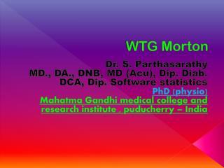 WTG Morton
