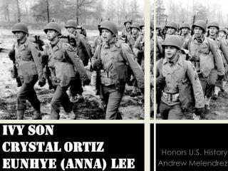 Ivy Son Crystal Ortiz Eunhye (Anna) Lee