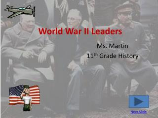World War II Leaders