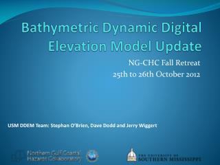 Bathymetric Dynamic Digital Elevation Model Update