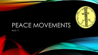 Peace Movements