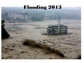 Flooding  2013