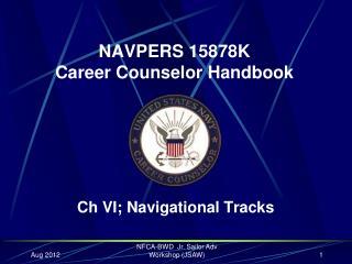 NAVPERS 15878K Career Counselor Handbook