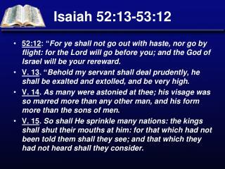 Isaiah 52:13-53:12