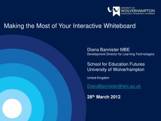 Making the Most of Your Interactive Whiteboard