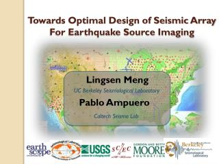 Towards Optimal Design of Seismic Array For Earthquake Source Imaging