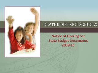 Olathe District Schools