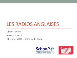 Les Radios  anglaises