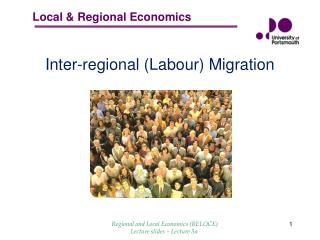 I nter - regional  (Labour)  Migration