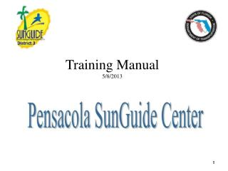 Training Manual 5/8/2013