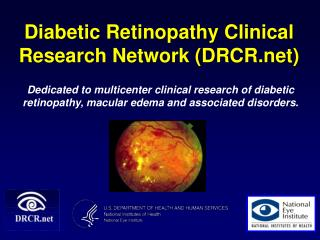 Diabetic Retinopathy Clinical Research Network DRCR