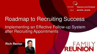 Roadmap to Recruiting Success