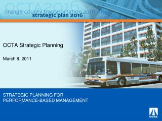 OCTA Strategic Planning