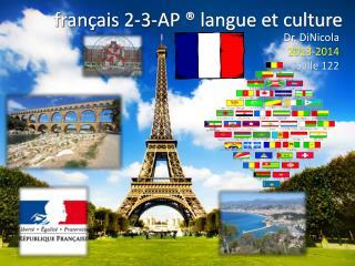 français  2-3-AP ® langue et culture