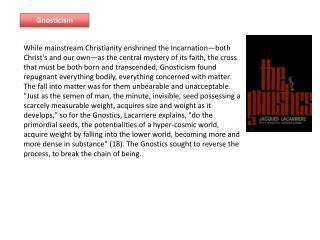 Gnosticism