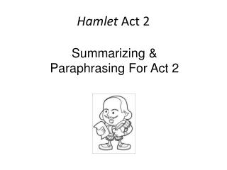 Hamlet  Act 2