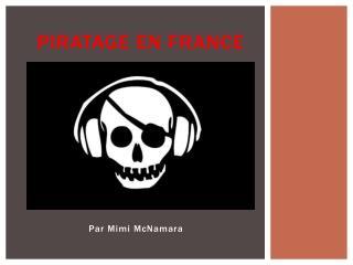 Piratage  en France