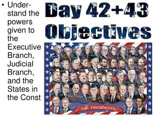 Day 42+43 Objectives