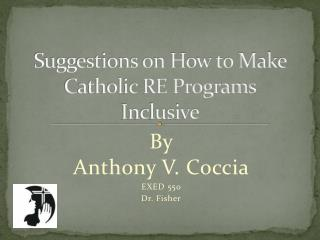 Suggestions on How to Make Catholic RE Programs Inclusive
