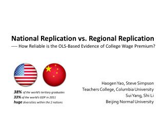 Haogen  Yao, Steve Simpson Teachers College, Columbia University Sui Yang, Shi Li