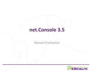 net.Console 3.5