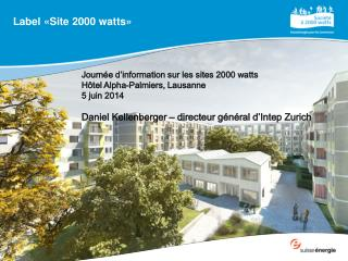Label «Site 2000 watts»