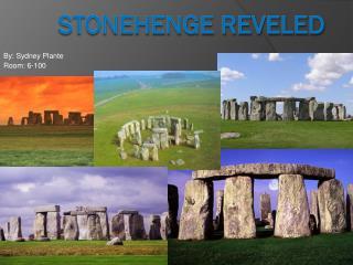 Stonehenge Reveled