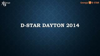 D-STAR Dayton 2014