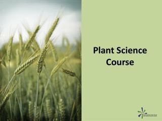 Plant Science Course