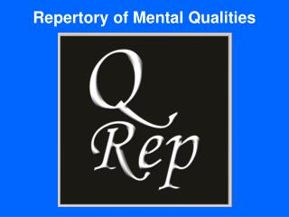 Repertory of Mental Qualities