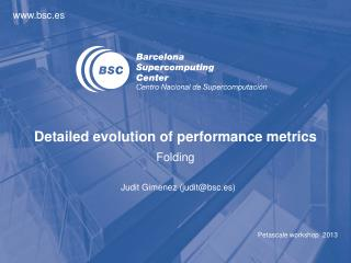 Detailed evolution of performance metrics