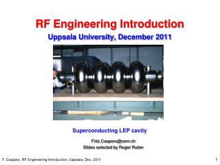 RF Engineering Introduction