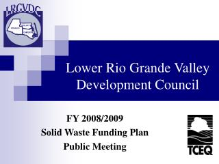 Lower Rio Grande Valley Development Council