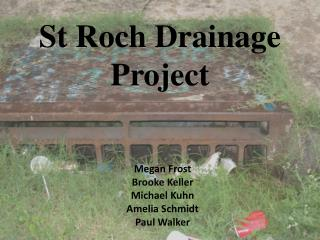 St Roch Drainage Project