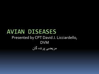 Avian diseases