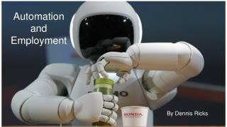 Automation and Employment