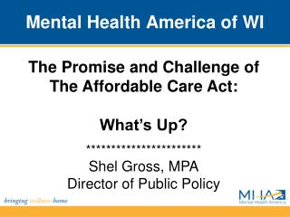 Mental Health America of WI