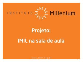 Conjuntura Econ�mica Atual Marcelo Mello Faculdades Ibmec/RJ 32� Edi��o do IMIL na Sala de Aula