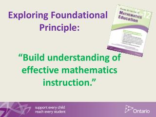 Exploring Foundational        Principle: