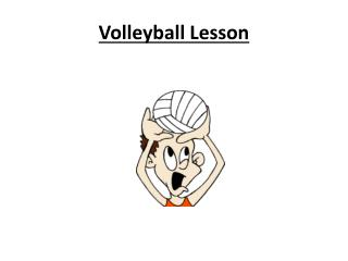 Volleyball Lesson