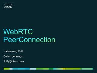 WebRTC PeerConnection