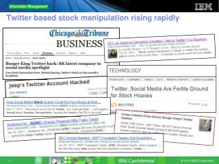 Twitter based stock manipulation rising rapidly