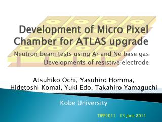 Development of Micro Pixel Chamber for ATLAS upgrade