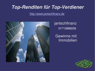 Top-Renditen für Top-Verdiener